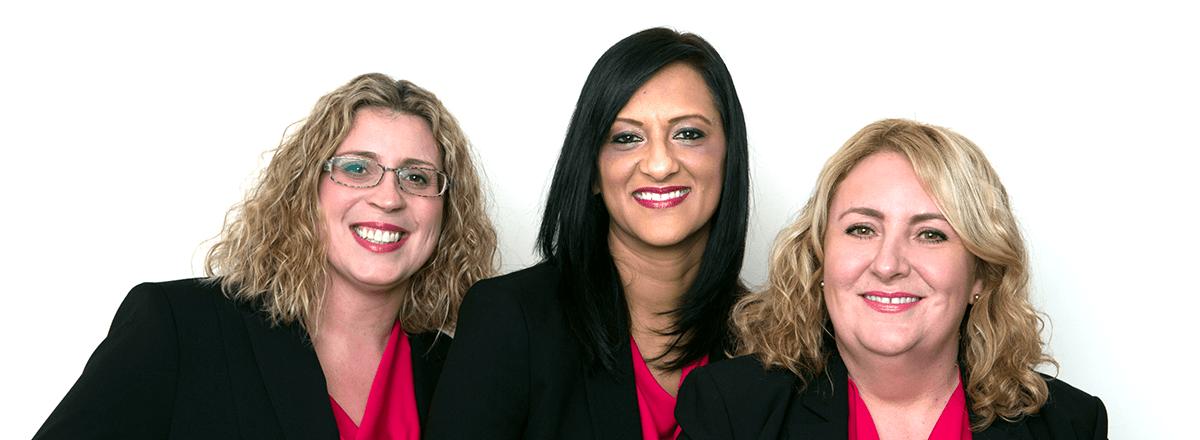 Becky, Sukhi and Jane