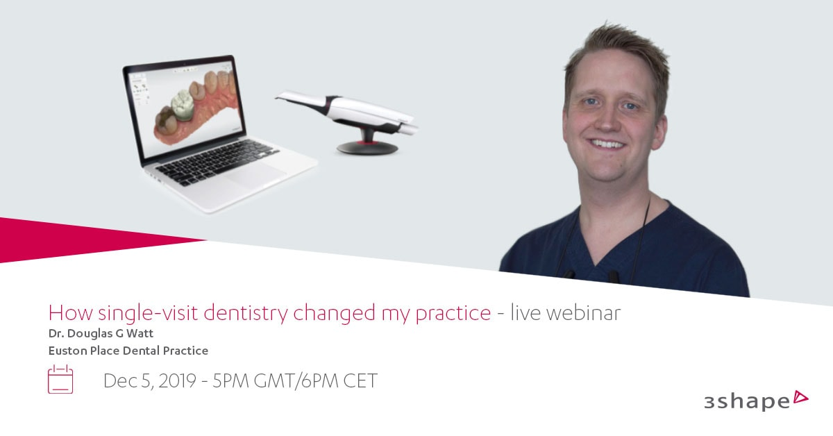 Dr Doug Watt hosts digital dentisty webinar in Leamington Spa