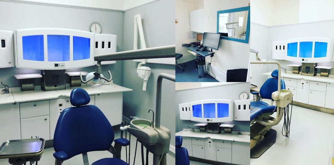 New dental hygiene suite at Warwickshire dentist Euston Place Leamington Spa