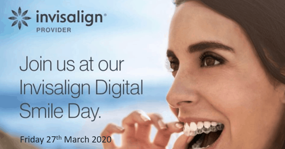 Invisalign Open Day at Euston Place Dental Practice in leamington Spa Warwickshire on 27 March 2020