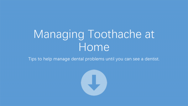 homecare toothache advice in warwickshire